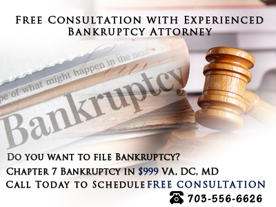 Free consultation with bankruptcy lawyer va dc md